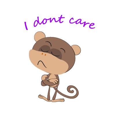 monkey emojis sticker messages sticker-10