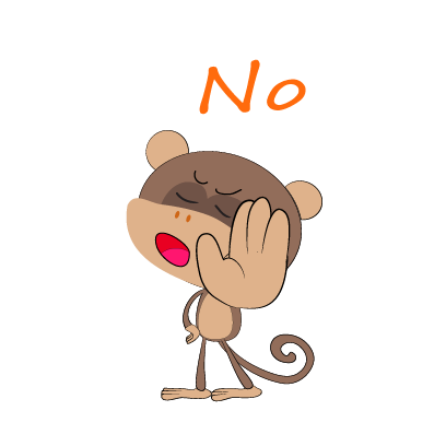 monkey emojis sticker messages sticker-7