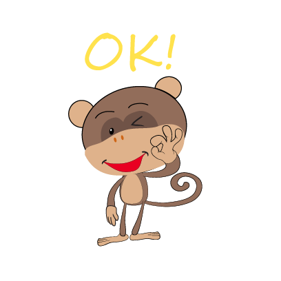 monkey emojis sticker messages sticker-11