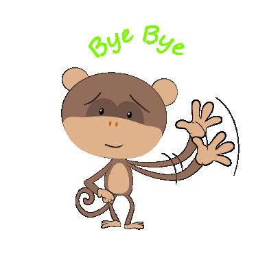 monkey emojis sticker messages sticker-1