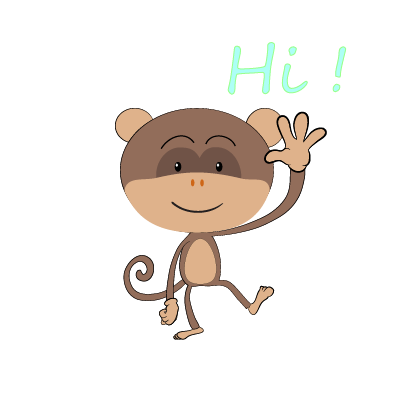 monkey emojis sticker messages sticker-0