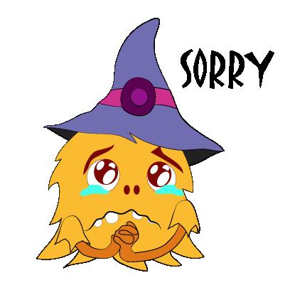 Color monster halloween messages sticker-8