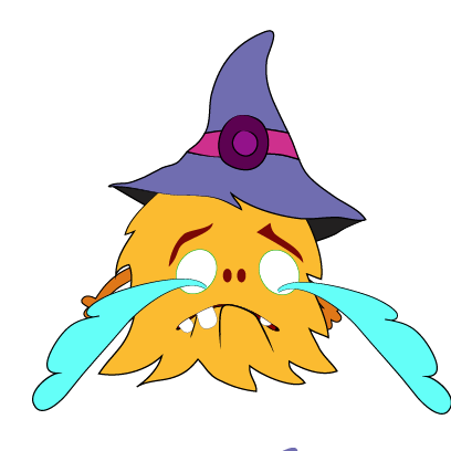 Color monster halloween messages sticker-5