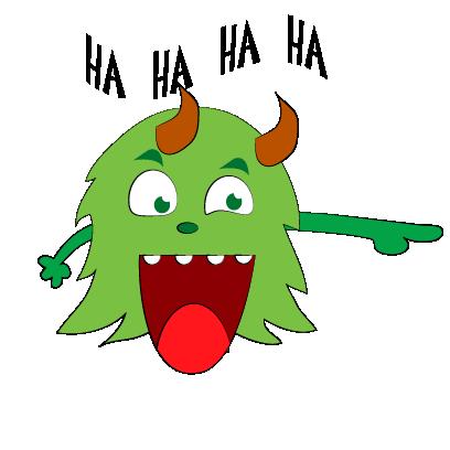 Color monster halloween messages sticker-7