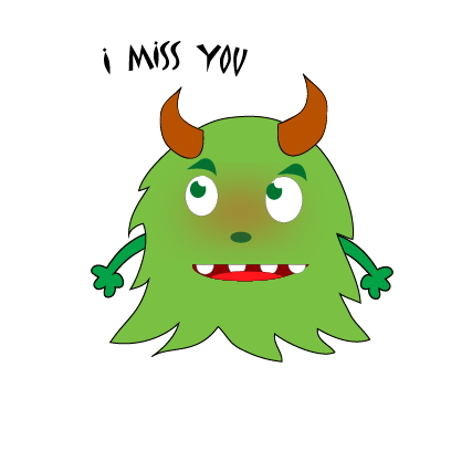 Color monster halloween messages sticker-4