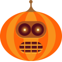Jack-o'-lanter Sticker Pack messages sticker-11