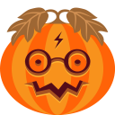 Jack-o'-lanter Sticker Pack messages sticker-10
