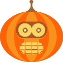 Jack-o'-lanter Sticker Pack messages sticker-1