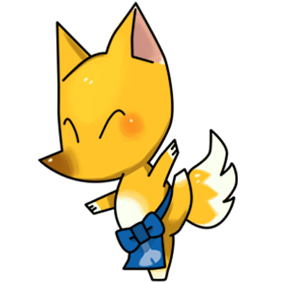 Tiny Foxxy - cute fox animal messages sticker-11