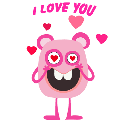 kid monster emoji 2 messages sticker-4