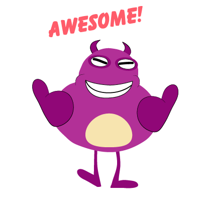 kid monster emoji 2 messages sticker-11