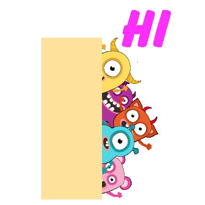 kid monster emoji 2 messages sticker-0