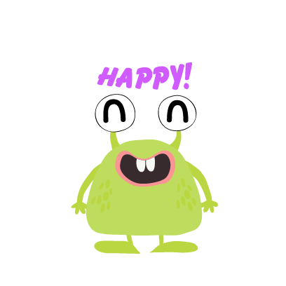kid monster emoji 2 messages sticker-1