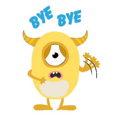 kid monster emoji 2 messages sticker-3