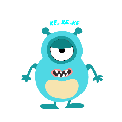 kid monster emoji 2 messages sticker-2