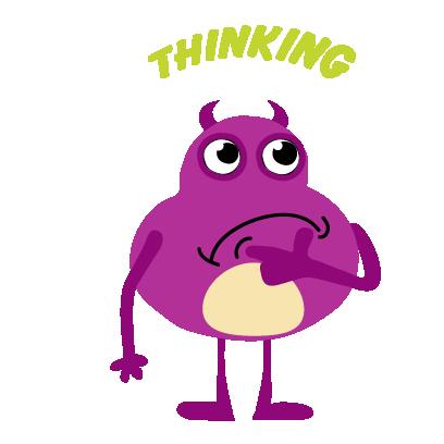 kid monster emoji 2 messages sticker-9
