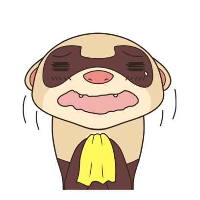 YouFerret - cute ferret animal messages sticker-5