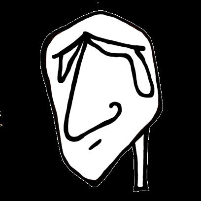 FACE UP® Sticker Studio B&W messages sticker-6