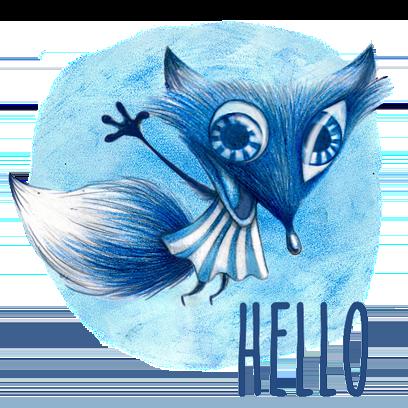 Bluefoxy Planet H5 messages sticker-0