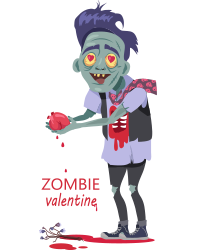Scary Ghost n Zombie Stickers messages sticker-1