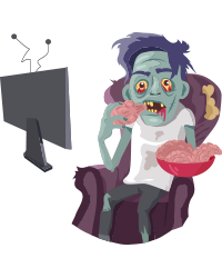 Scary Ghost n Zombie Stickers messages sticker-10
