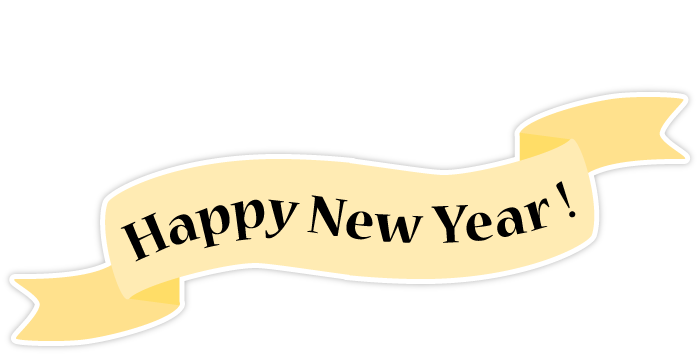 Enjoy New Year Stickers messages sticker-8