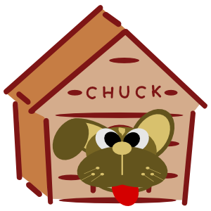 Doggy Chuck messages sticker-4