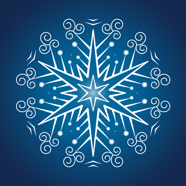Snowflakes Sticker Pack messages sticker-10