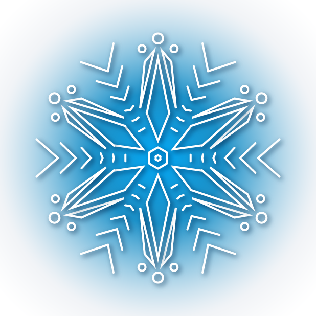 Snowflakes Sticker Pack messages sticker-8