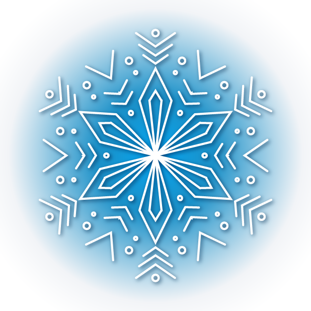 Snowflakes Sticker Pack messages sticker-3