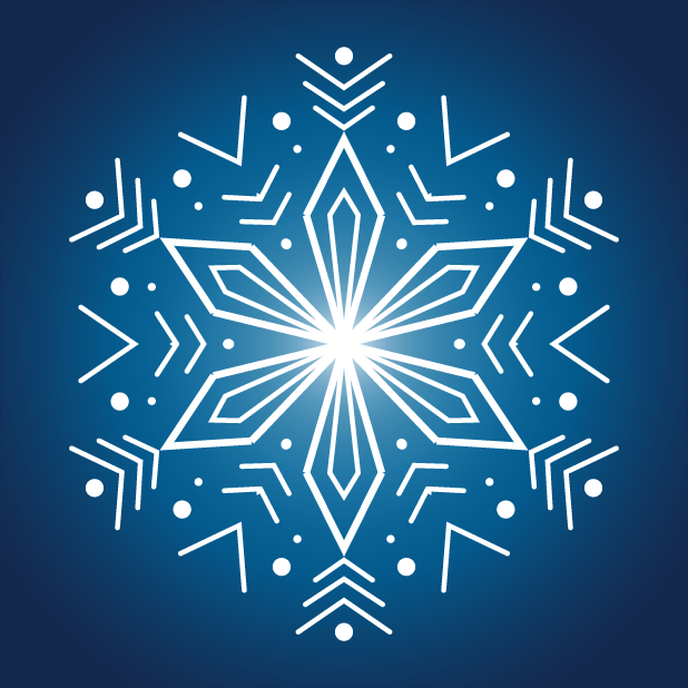 Snowflakes Sticker Pack messages sticker-11