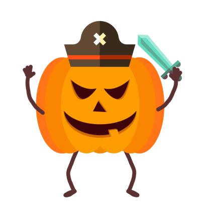 Pumpkin Animated Stickers messages sticker-2