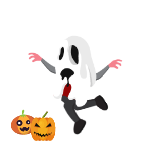 Halloween Character animated 2 messages sticker-4