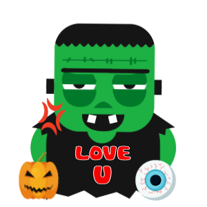 Halloween Character animated 3 messages sticker-9