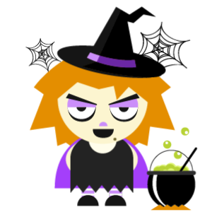 Halloween Character animated 3 messages sticker-2