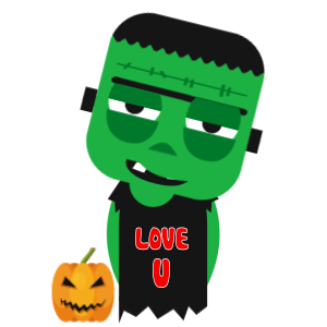 Halloween Character animated 3 messages sticker-10