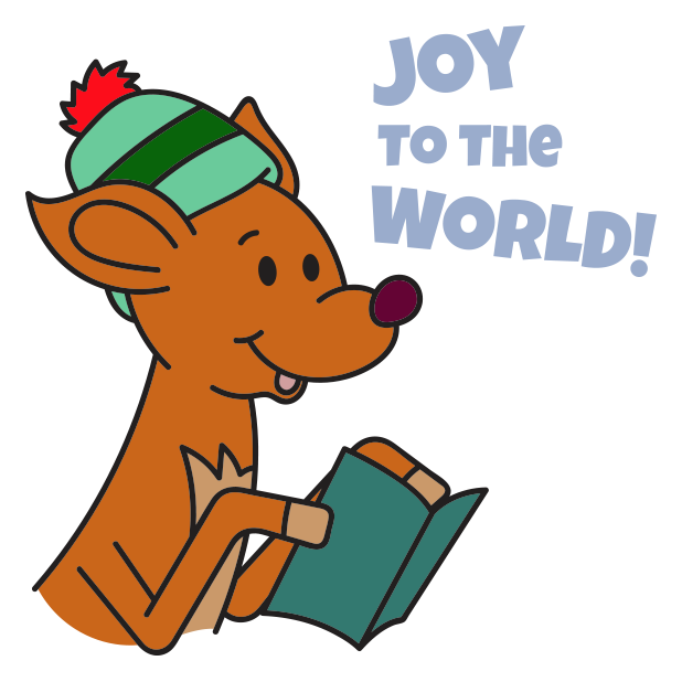 Raymond the Reindeer Stickers messages sticker-5