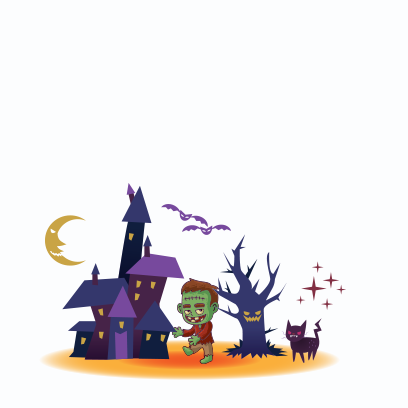 Happy Halloween Trick or Treat messages sticker-11