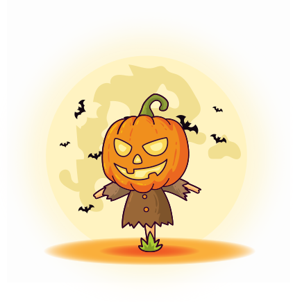 Happy Halloween Trick or Treat messages sticker-3