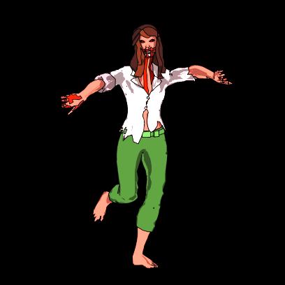 Dancing Zombies messages sticker-1