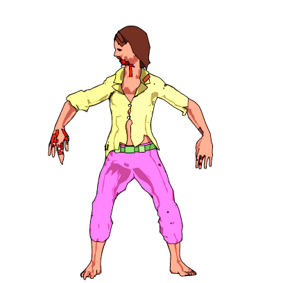 Dancing Zombies messages sticker-4