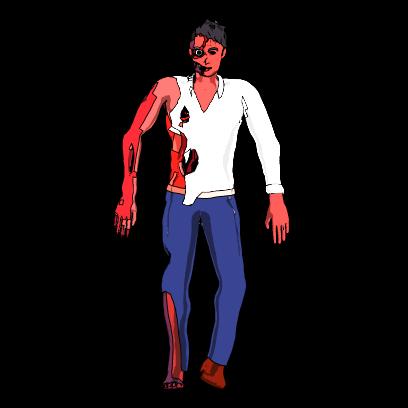 Dancing Zombies messages sticker-0