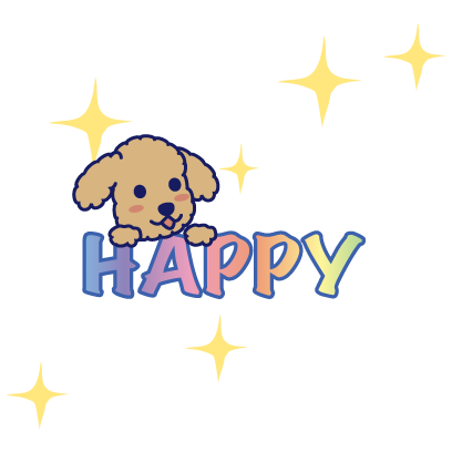 Happy Schnauzer and Toypoodle messages sticker-2