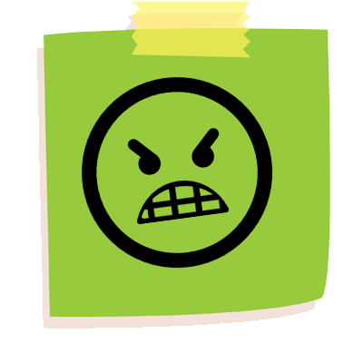 Sticky Note Life Stickers messages sticker-1