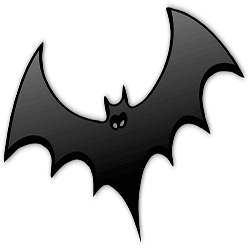 Halloween Sticker Bat messages sticker-6