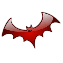 Halloween Sticker Bat messages sticker-7