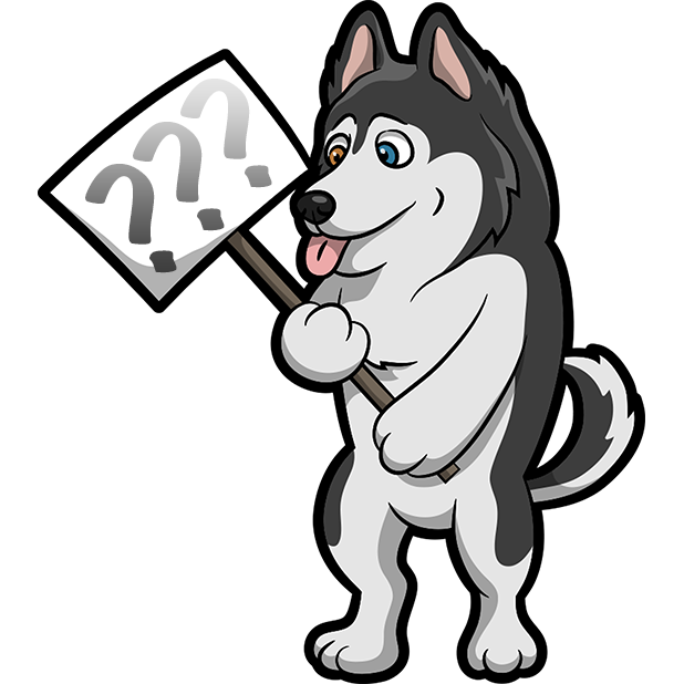 My HuskyMoji Dog Stickers messages sticker-4