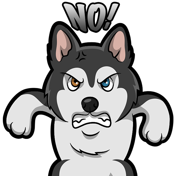 My HuskyMoji Dog Stickers messages sticker-6