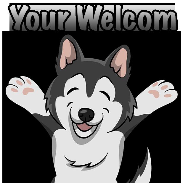 My HuskyMoji Dog Stickers messages sticker-7