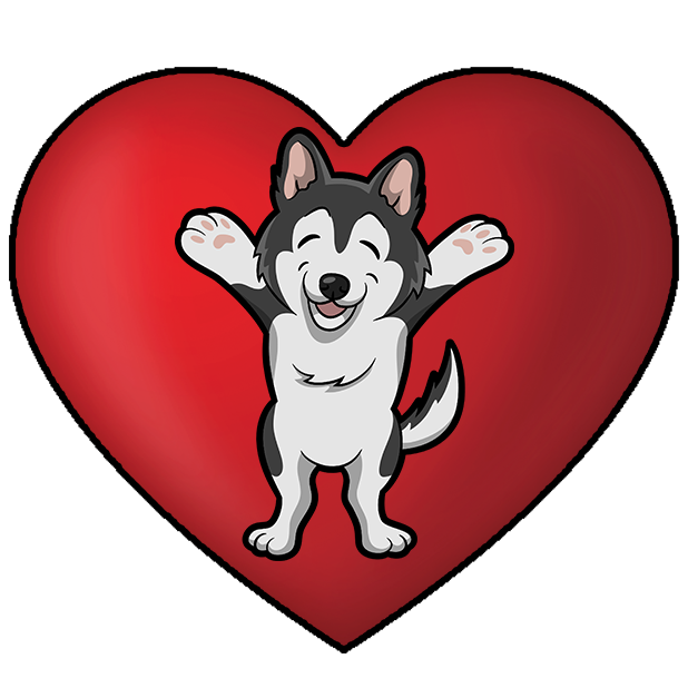 My HuskyMoji Dog Stickers messages sticker-10